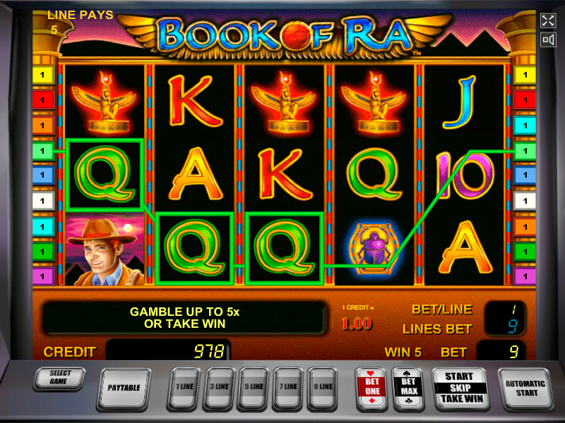 Book Of Ra Jeux